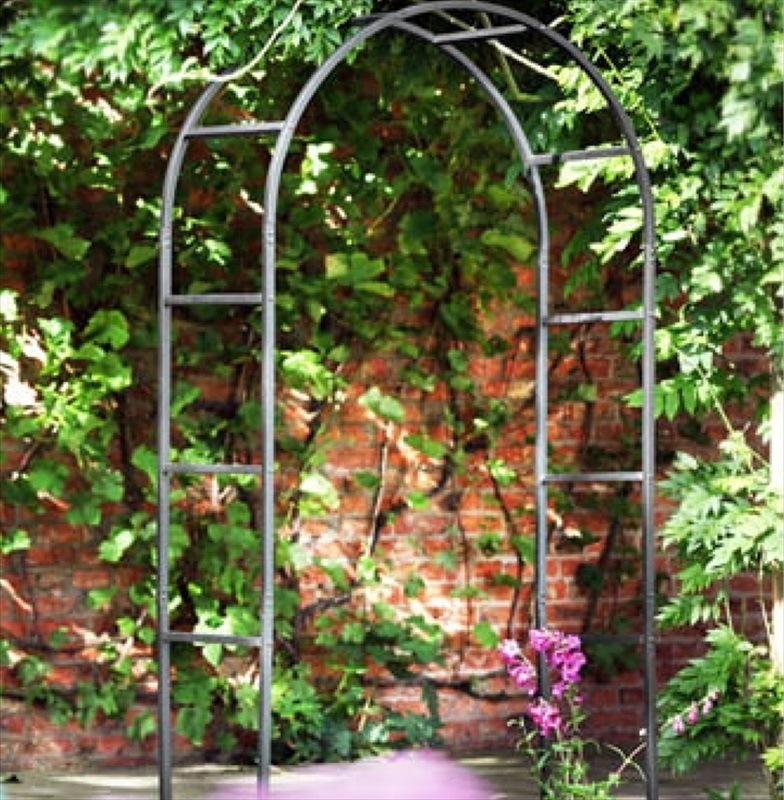 classic metal garden arch the garden factory. Black Bedroom Furniture Sets. Home Design Ideas