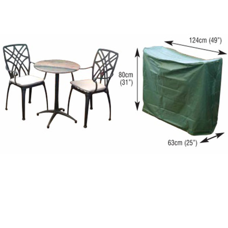 2 seater bistro furniture set cover the garden factory for Outdoor furniture 2 seater