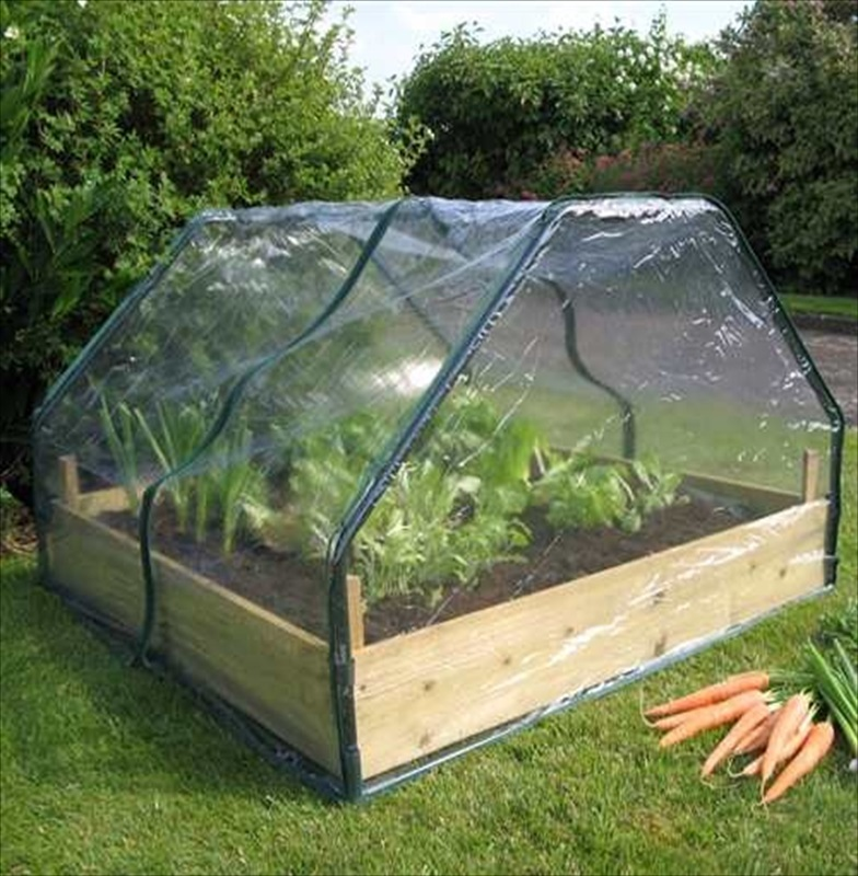 Botanico 39 S Cloche For Raised Beds The Garden Factory