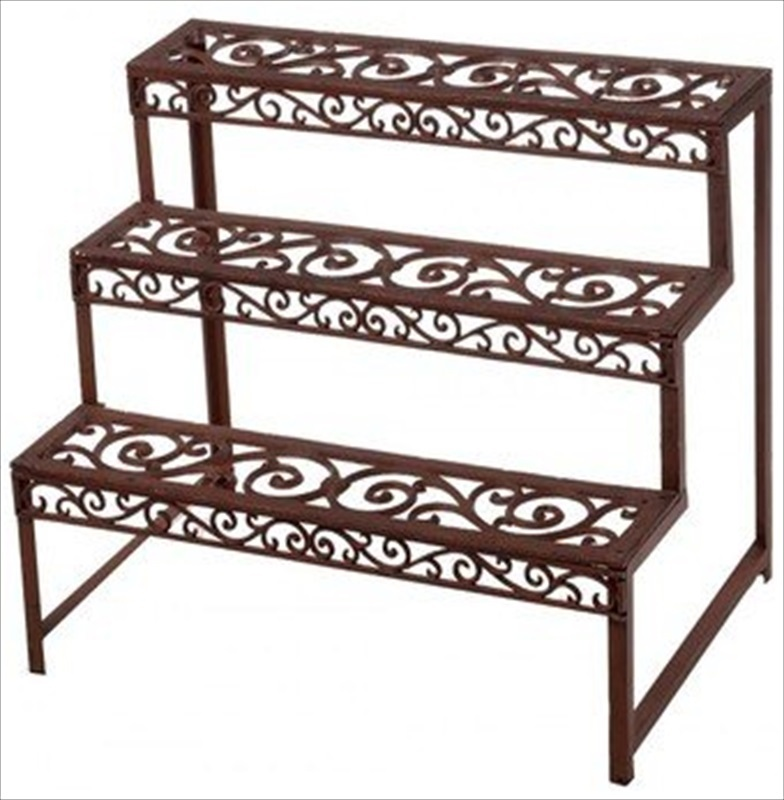 Etagere Plant Stand Rectangle The Garden Factory