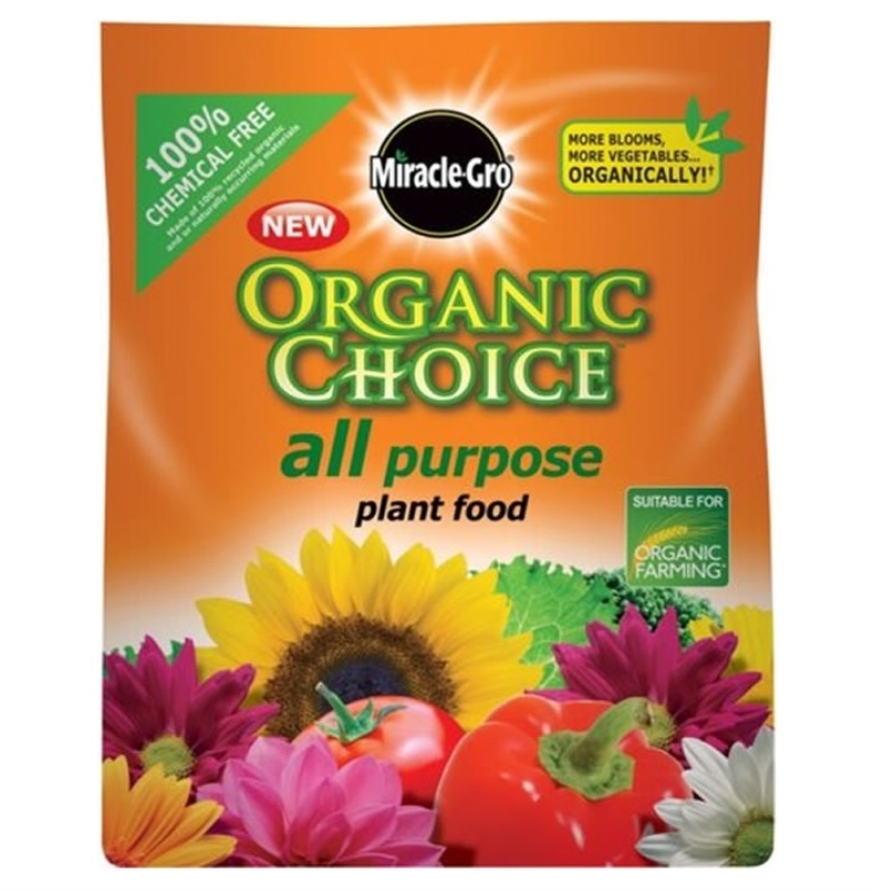 Miracle gro organic plant food the garden factory - Miracle gro all purpose garden soil ...