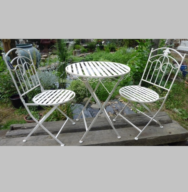 outdoor living garden furniture bistro sets round folding bistro