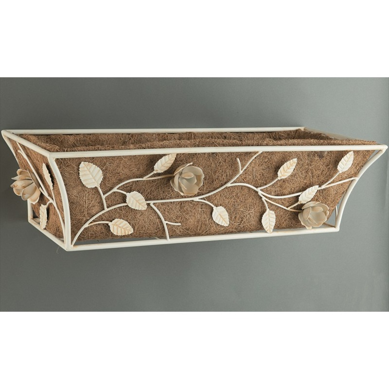 English Rose Design Wall Trough With A 24 Diameter