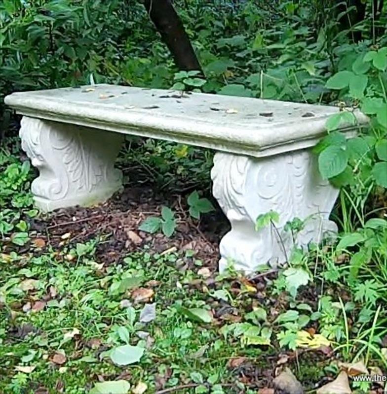 Stone Garden Seats: Italian Bench Seat In Stone