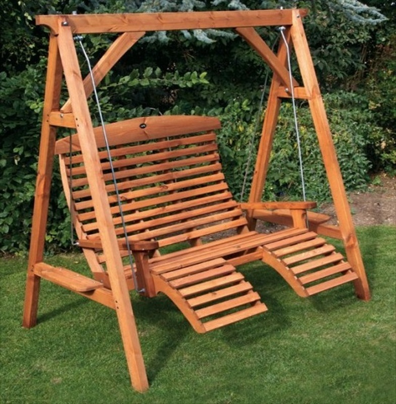 Apex comfort swing seat from afk the garden factory for Garden swing seat plans