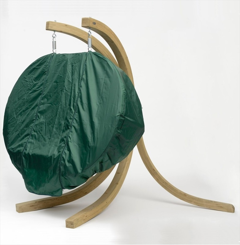 globo royal pod chair cover green the garden factory