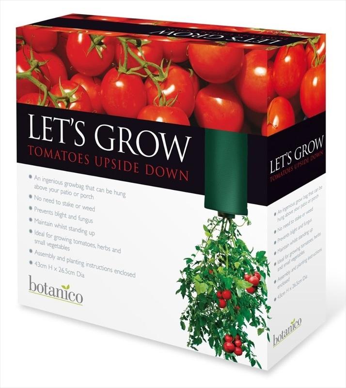Upside Down Tomato Planter   Botanico
