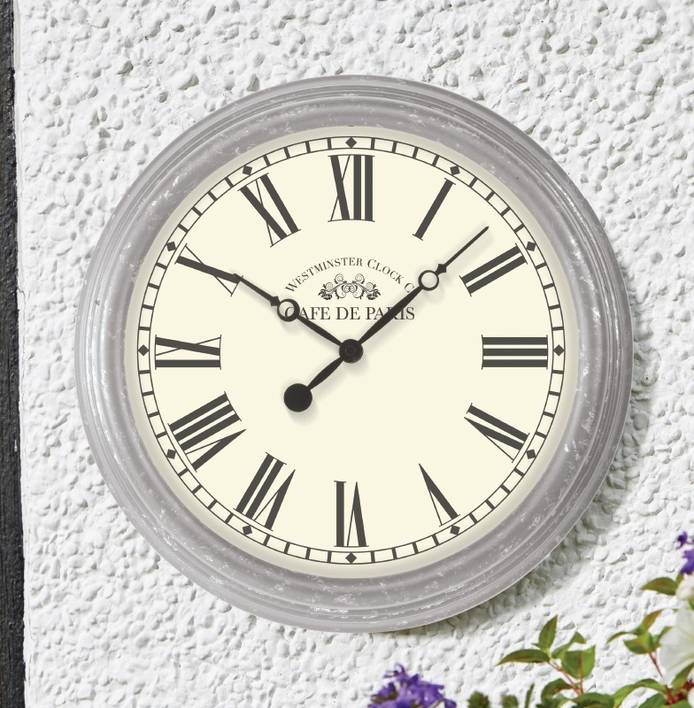 biarritz garden outside wall clock the garden factory