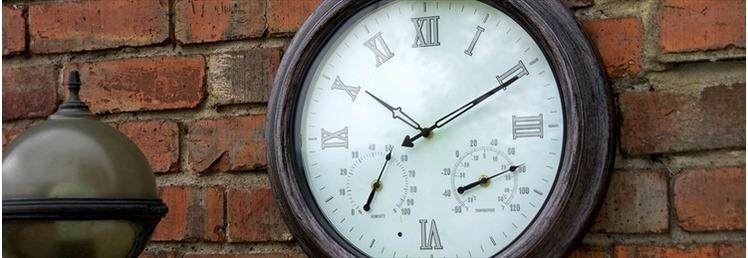 Thermometers & Clocks
