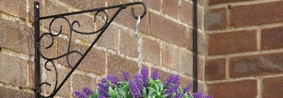 Hanging Basket Brackets & Accessories