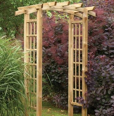 Ryeford Wooden Garden Arch by Forest Garden