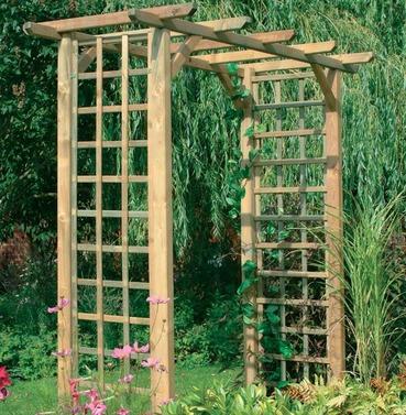 Classic Garden Arch by Forest Garden