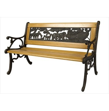 Noah's Ark Bench - Childrens Garden Furniture