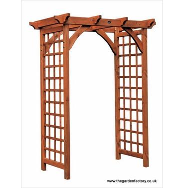 Wooden Pergola Garden Arch by AFK