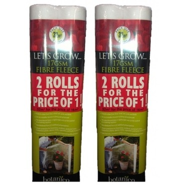 Garden Frost Protection Fleece 4 Rolls - 1m x 16m