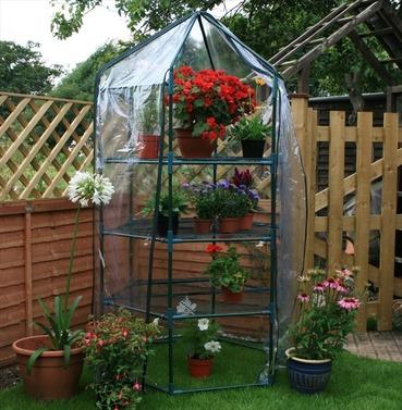Hexagonal Growhouse / Greenhouse - Large by Botanico