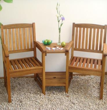 Kent Companion Seat in Hardwood