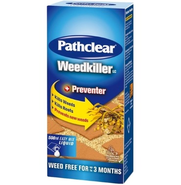 Pathclear Weedkiller 1 lt Plus Preventer - Concentrate 667sqm