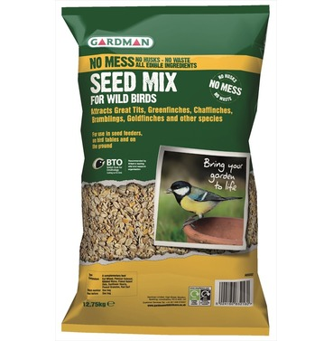 No Mess Seed Mix 12.75kg - from Gardman