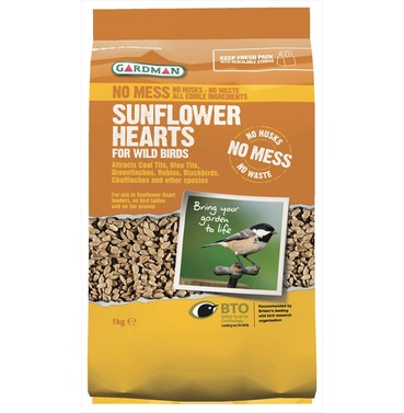 Sunflower Hearts Bird Food  from Gardman
