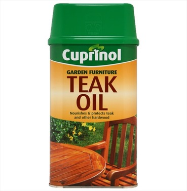 Cuprinol Teak and Hardwood Garden Furniture Oil - 1ltr