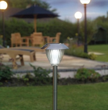Ultra Bright Stainless Steel Solar Border Lights - Pack of 2