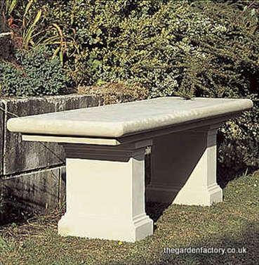 Chelsea Seat in Stone from Chilstone