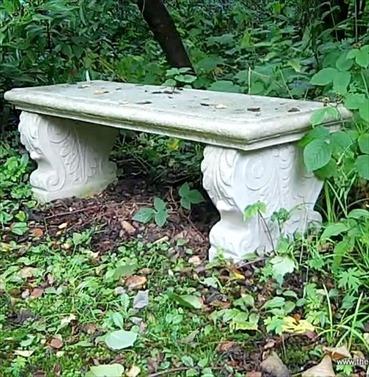 Italian Bench Seat in Stone