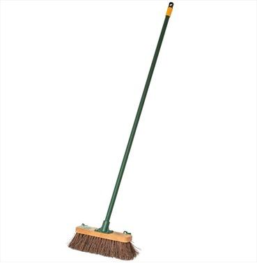 """Stiff Brush 11"""" Garden Broom"""