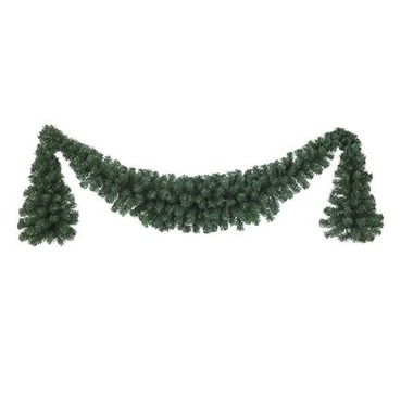 Christmas Decorative Garland Swag 180 x 60cm Green - Kaemingk