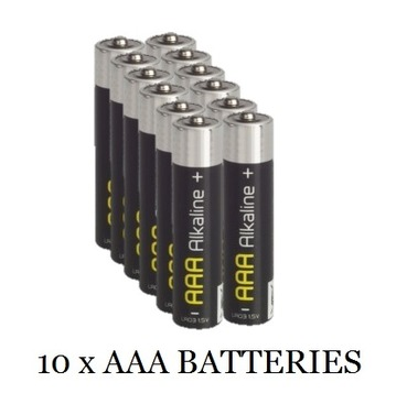 Battery AAA 10 Pack of Batteries Promotion Price