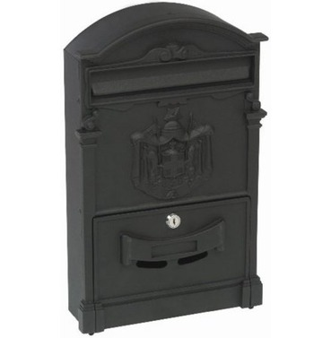 Classic Post Box - Black - Gardman
