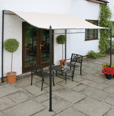Easy Fit Wall Mounted Gazebo Width 250cm x Depth 200cm