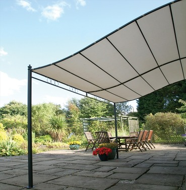 Easy Fit Wall Mounted Gazebo Width 300cm x Depth 250cm