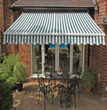 Deluxe Easy Henley Wall Awning Width 2.5m or 3m or 3.5m