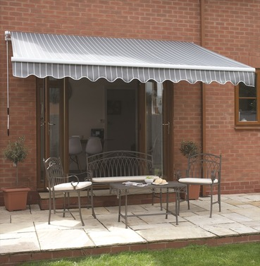 Deluxe Easy Berkeley Wall Awning Width 2.5m or 3m or 3.5m