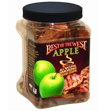 Best of the West Smoked Wood Chips - Apple 1.8lt - 100% Natural