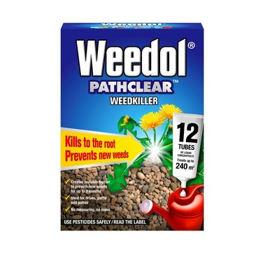 Weedol Pathclear Weedkiller 12 Tubes - 240 sq m