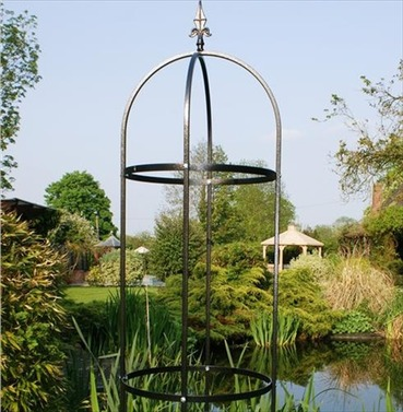 Tower Traditional 8ft Obelisk - Plant Support - Poppy Forge