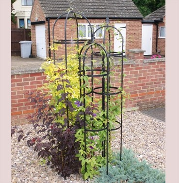 Tower Traditional Obelisk Set - 6ft, 7ft and 8ft - Plant Support