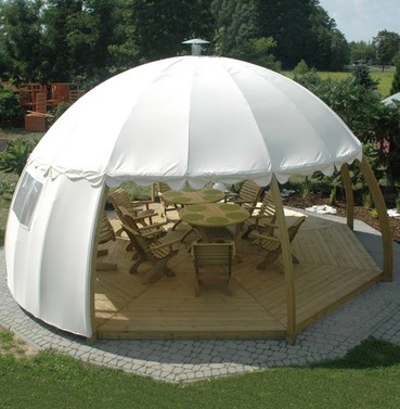 Nowy Targ Cream Igloo and 2 Side Panels - WITHOUT Floor