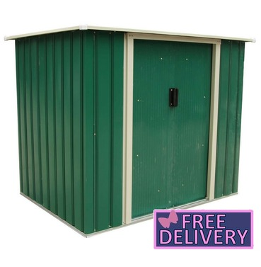 Metal Garden Storage Chest Storette Small Shed  5ft x 3ft - Charles Bentley
