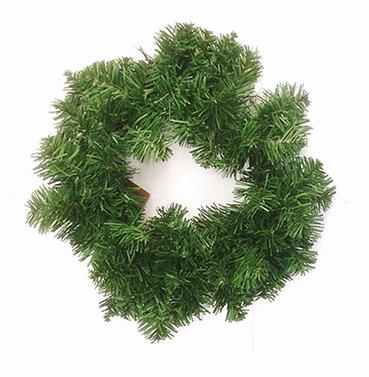 Christmas Imperial Artificial Wreath 35cm - Plain Bushy