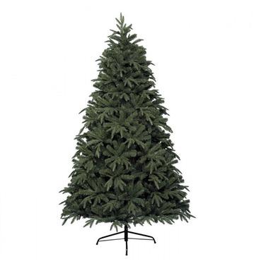 Victoria Pine Christmas Tree 2.13m (7ft) Plain Hinged Xmas Tree
