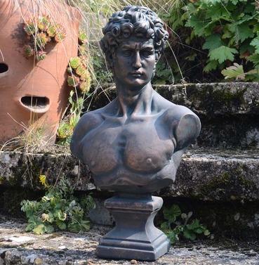 David Bust Statue Ornament - Polystone - Europa Leisure