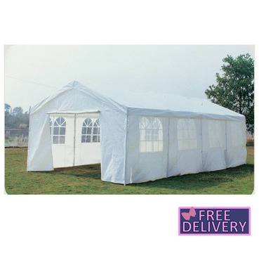 Large Wedding / Party Tent Gazebo Marquee 8m x 4m - Charles Bentley