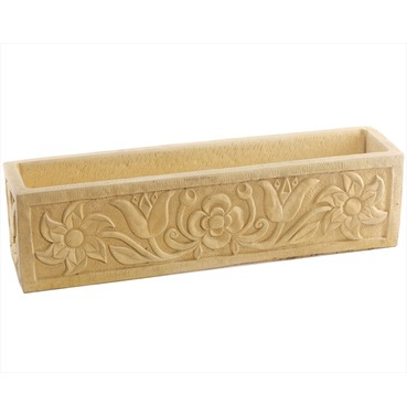 Stone Ravenshead Planter Trough - Cotswold Stone Finish - Size Options - Melmar Stone