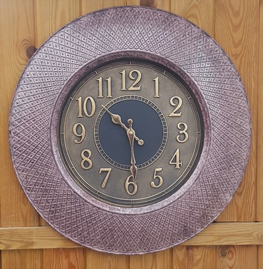 Richmond Garden Outdoor or Indoor Wall Clock 50cm