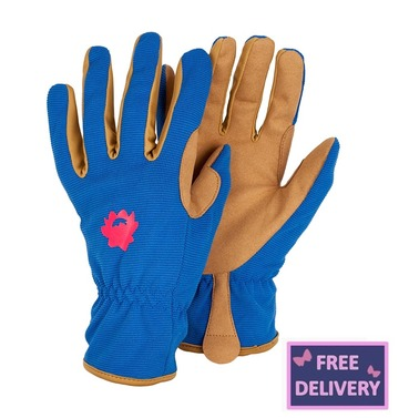 "Profession ""Elle"" Rose Gardening Gloves - Medium - Briers"