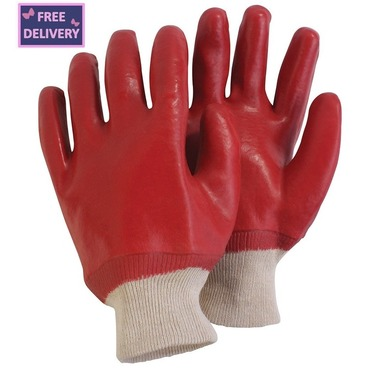 PVC Coated Gardening and DIY Gloves - Large - Briers